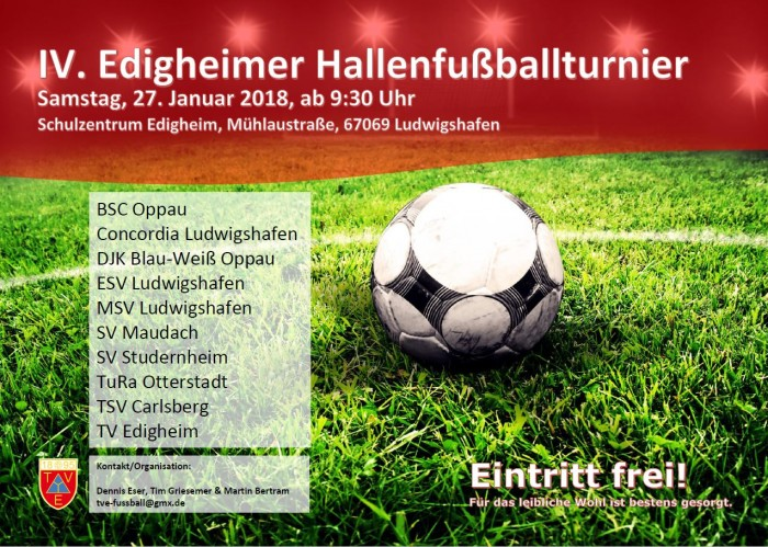 4. Edigheimer Hallenfußballturnier