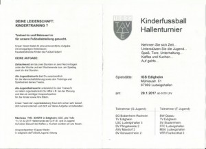 Spieltag Hallentag 2